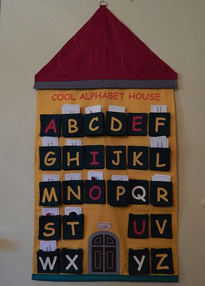 Cool Alphabet House - The combination of the cards and the houses – a picture dictionary for young children and a library