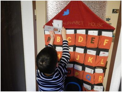 Searching for the correct word in the Alphabet House